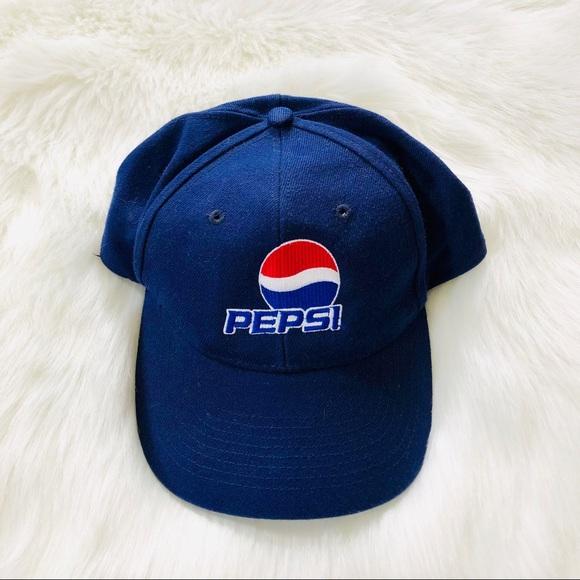 d8d75bcaa Pepsi Coca Cola Macy blue hat unisex